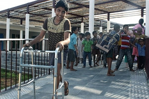 Jaque mate a las limitaciones físicas en Anantapur