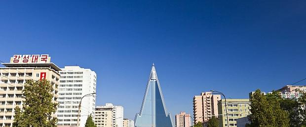 La increíble historia del rascacielos fantasma que domina Corea del Norte