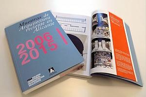 """Publicación """"Muestras de Arquitectura reciente en Alicante 2006-2015"""""""