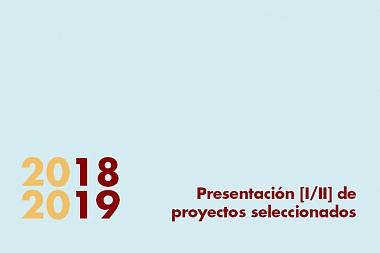 Presentación de proyectos seleccionados en la Muestra de Arquitectura Reciente en Alicante 2018-2019.