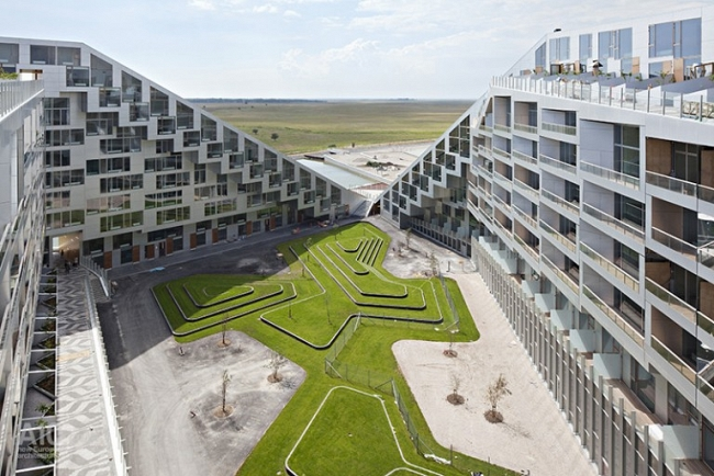 8 House Copenhagen. Fuente: BIG architects