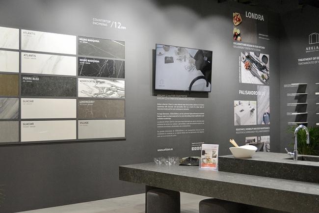 Imagen del stand de Arklam en Espacio Cocina-SICI 2019