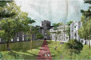 Un proyecto de regeneración urbana de Barcelona transforma dos centros penitenciarios en nuevas viviendas sostenibles y zonas verdes
