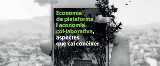 Barcelona edita guías para consumidores y trabajadores de plataformas digitales de economía colaborativa