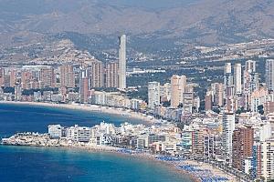 Benidorm lidera los datos de ocupación en apartamentos turísticos en la Península
