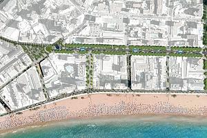 Once empresas competirán por remodelar la avenida del Mediterráneo de Benidorm