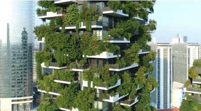 Bosco verticale Milán. Fuente: Stefano Boeri Architetti