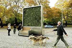 Un Muro verde en alemania
