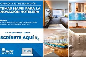 Sistemas Mapei para la renovación hotelera
