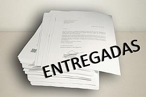Entregadas en el Ministerio de Fomento las cartas de apoyo a las enmiendas a la LCSP