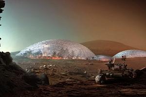 Mars Science City: casas para vivir con temperaturas extremas y poca gravedad