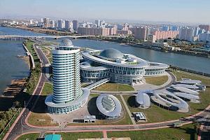 Corea del Norte, de la arquitectura estalinista al futurismo