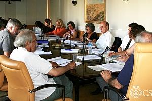 Reunión del Patronato del DOCOMOMO en el CSCAE