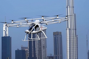 Dubái prueba un taxi-dron autónomo capaz de volar a 200 metros de altura