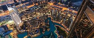 Tiburones y rascacielos en Dubái