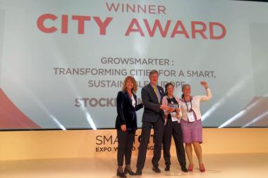 Estocolmo recibe el premio a la Ciudad Inteligente 2019 que concede Smart City Expo World Congress