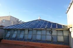 SOLAR INNOVA suministra 200 módulos fotovoltaicos BIPV para instalar en el lucernario del Palau Foronda en Barcelona