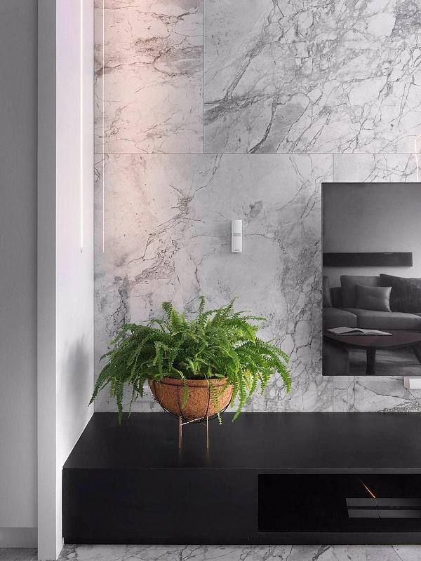 Proyecto de interiorismo realizado con revestimiento Portobello, de ITT Ceramic