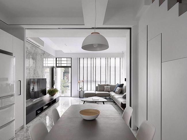 Proyecto de interiorismo realizado con pavimento Portobello, de ITT Ceramic