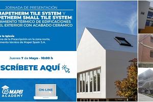 Webinar: Aislamiento térmico de edificaciones por el exterior con acabado cerámico