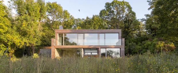 La vivienda pasiva Lark Rise, ejemplo de autoabastecimiento energético mediante energía solar en Reino Unido