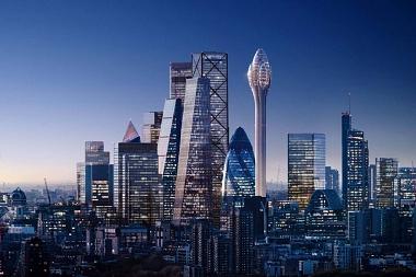 Londres veta el 'tulipán' de Norman Foster