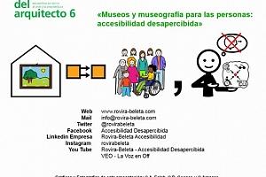 """Conferencia Enrique Rovira-Beleta. """"Museos y museografía para las personas: accesibilidad desapercibida"""""""