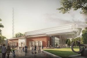 El centenario Museo de Bellas Artes de Bilbao abraza el futurismo de Foster