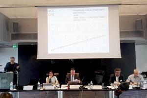 El Consejo de Arquitectos de Europa valora la labor del CSCAE para promover la adhesión a la Declaración de Davos