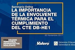 Grupo Valero organiza un seminario online para arquitectos sobre la envolvente térmica de los edificios