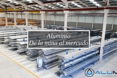 Aluminio · De la mina al mercado