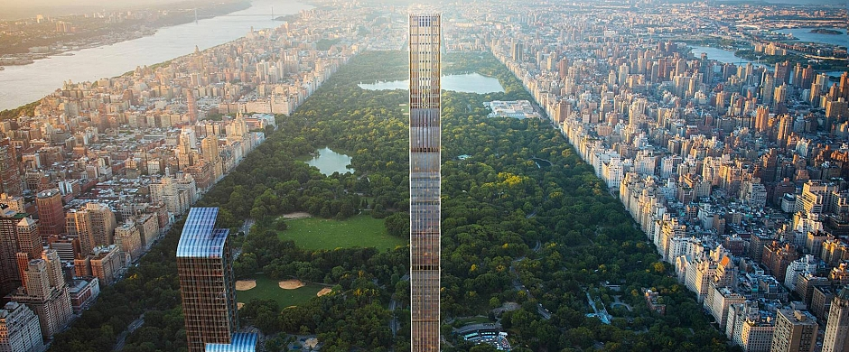 ¿Lujo sinsentido? La polémica revolución de los rascacielos 'cerilla' de Nueva York (que se subastan los millonarios)