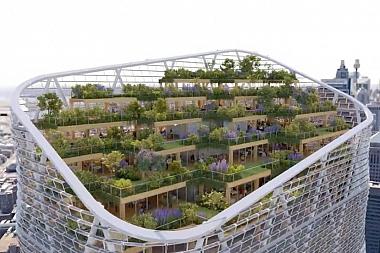 Un gran rascacielos híbrido para el futuro 'verde' de Sídney
