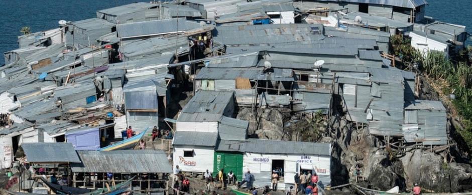 La vida en la pequeña isla de Migingo - en imágenes