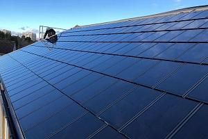SOLAR INNOVA suministra 400 tejas fotovoltaicas BIPV para el proyecto de instalación de cubierta fotovoltaica en Chalet
