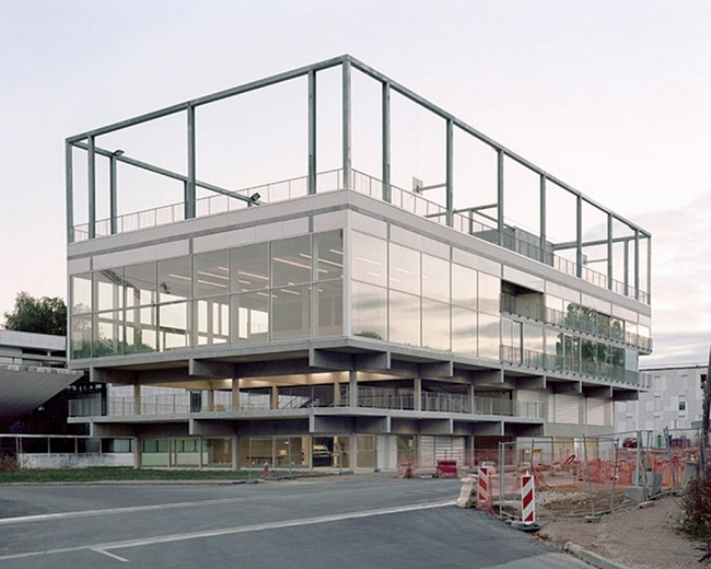 Studio Muoto. Edificio para un Campus. París Saclay, 2016