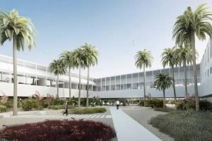 El nuevo Rectorado, un edificio funcional y sostenible alrededor de una plaza y dos patios