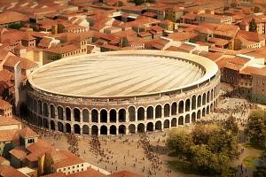 ¿Una sombrilla para la Arena de Verona?
