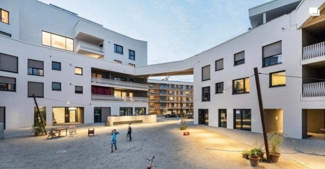 Complejo de viviendas cooperativas wagnisART/bogevischs buero architekten stadtplaner GmbH+SHAG Schindler Hable.
