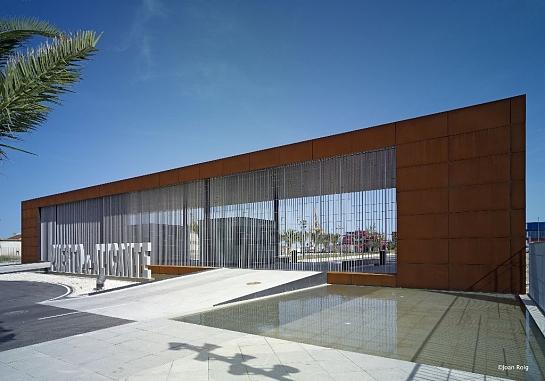 Nuevo acceso urbano al Puerto de Alicante . Alicante . Alacant . España