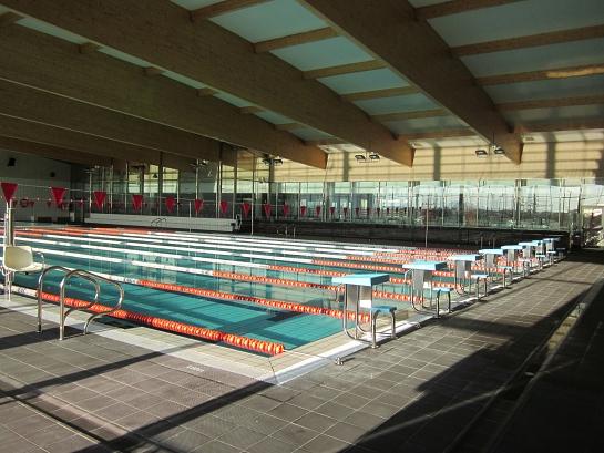 Centro deportivo Municipal de Villena . Villena . Alacant . España