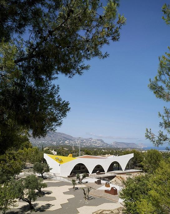Centro Educativo Medioambiental CEM El Captivador . La Nucía . Alacant . España