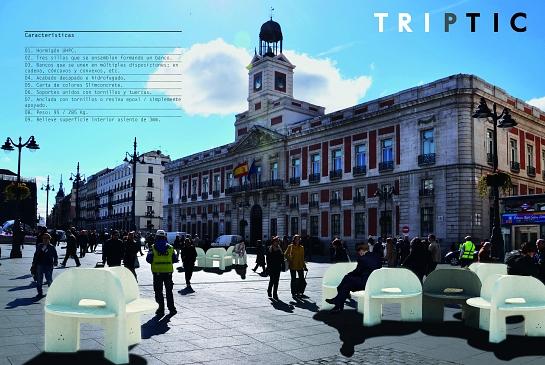 Asiento TRIPTIC . Madrid . Madrid . España . 2014