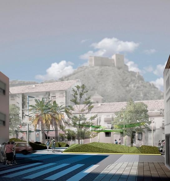 Remodelación de la Glorieta Juan Carlos I y entorno. . Mula . Murcia . España