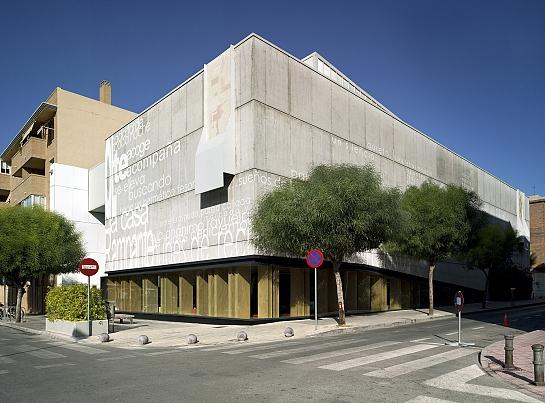 Biblioteca Municipal . San Vicente del Raspeig . Alacant . España