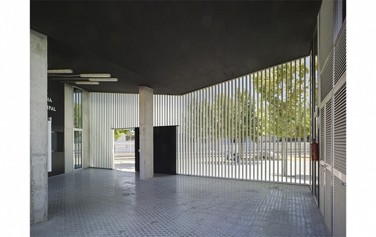 Piscinas descubiertas y Parque deportivo Caravaca de la Cruz . Caravaca de la Cruz . Murcia . España