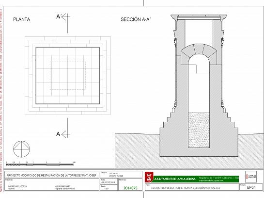 RESTAURACIÓN MONUMENTO FUNERARIO. VILLAJOYOSA . Villajoyosa . Alacant . España