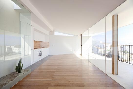 Reforma y ampliación de apartamentos en el hostal Fornet de Altea . Altea la Vieja . Alacant . España