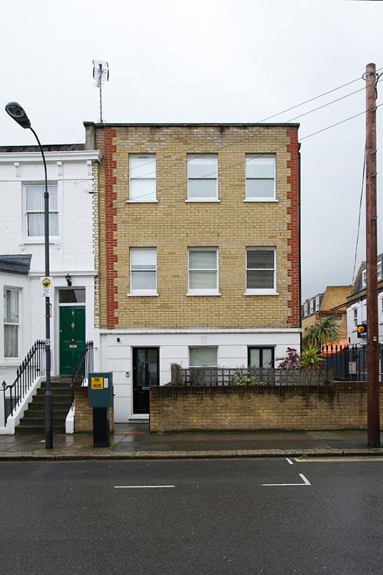 Reforma de vivienda en Londres . London . England - London . Reino Unido