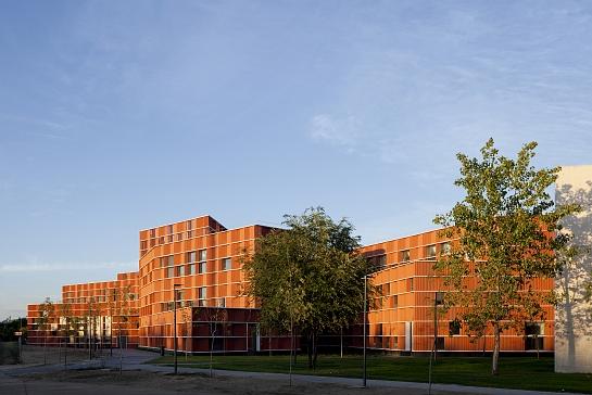 Edificio 18 del Campus de Getafe . Getafe . Madrid . España